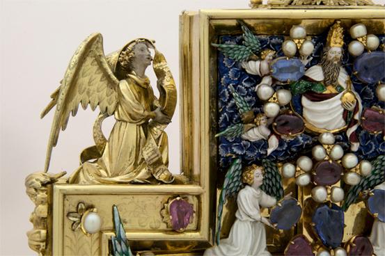 Reliquiario di Sisto V, Museo Vescovile di Montalto Marche